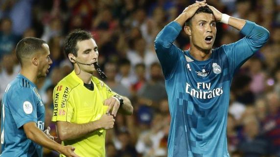 Weltfußballer Cristiano Ronaldo für fünf Spiele gesperrt