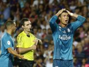 Fußball: Ronaldo nach Schubser gegen Schiedsrichter für fünf Spiele gesperrt