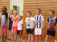 Ferienprogramm: 75 junge Kämpfer auf 210 Quadratmetern