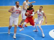 Trotz 26 Punkten von Schröder: Deutsche Basketballer verlieren gegen Polen mit 75:80