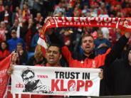 Klopps Popularität: Hoffnungsträger an der Anfield Road: Liverpool liebt Klopp