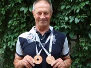 Kraftsport: Ein Wettkampf, zwei Medaillen für einen Hasberger
