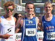 Laufsport: Wer kommt als Erster oben am Berg an?
