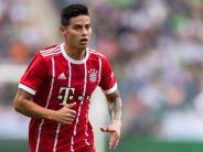 Müller auf der Bank: FC Bayern mit James gegen Anderlecht