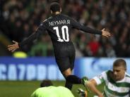 Champions League: Paris dank Neymar und Mbappé furios - Auch Barça siegt