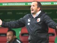 """FC Augsburg: Für den FCA wird es in Frankfurt eine """"knackige Angelegenheit"""""""