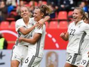 6:0 gegenSlowenien: DFB-Frauen feiernPflichtsieg zumQuali-Auftakt
