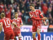 Fußball-Bundesliga: Bayern feiertSieg - Rückschläge für Frankfurt und Wolfsburg