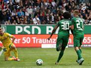 FC Augsburg: Einzelkritik: Caiuby glänzt mit einem Tor der Extraklasse