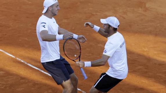 Davis Cup: Deutschland gewinnt Doppel