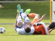 Günzburg: Fußball-Kreisliga: Günzburg und Mindelzell am Boden