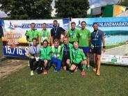 Leichtathletik: Durchs Fränkische Seenland