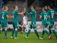 Durch ein Eigentor: DFB-Frauen mit glanzlosem Sieg: 1:0 gegen Tschechien