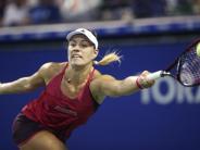 Erfolg bei WTA-Turnier: Kerber nach Sieg gegen Pliskova im Halbfinale von Tokio