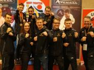 Kampfsport: Internationale Konkurrenz geschlagen
