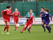 Frauenfußball: Munteres Toreschießen