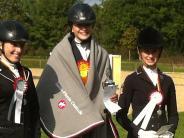 Vierkampf in Mindelheim: Wie ein Triathlon, nurmit Pferd
