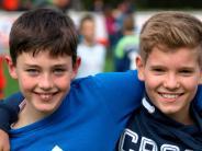 Fußball: Die Freundschaft steht im Vordergrund