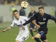Europa League: 1:2 gegen Sorja Luhansk: Hertha braucht ein Wunder