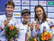 Bahnrad-EM: Vogel und Welte sprinten an EM-Titel vorbei - zweimal Silber