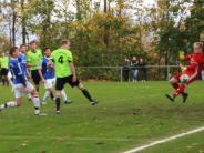 Fußball-Kreisliga Nord: Sechs Tore im Duell der Aufsteiger