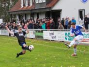 Fußball-KreisligaNord: Hainsfarth siegt auch mit zehn Mann