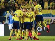 Playoff-Hinspiel: Italien muss umWM bangen:0:1 inSchweden
