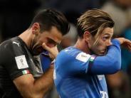 Fußball: Ausscheiden der Italiener: Mamma mia!