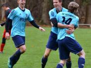 Bezirksliga-Topspiel: Dreifacher Jubel