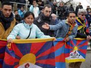 Fußball: Tibet-Fahnen stören die Chinesen