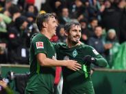 Kantersieg gegen Hannover: Traum-Duo-Comeback:Hattrick-Held Kruse und Partner Bartels