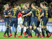 Champions League: 4:1-Sieg: Leipzig überrollt Monaco
