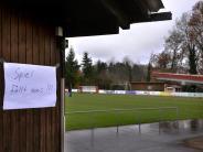 Rumpfprogramm: Land unter auf den Landesliga-Plätzen