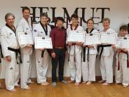 Taekwondo: Großmeister prüfen in Kissing