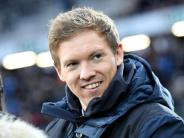 Jung und im Fokus: Trainer Nagelsmann und Wolf im direkten Bundesliga-Duell