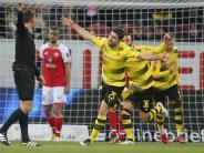Leipzig lässt erneut Punkte: Dortmund darf mit Stöger wieder jubeln