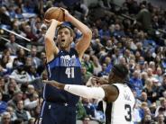 NBA: Nowitzki gewinnt mit Dallas gegen San Antonio