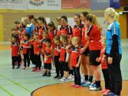 Handball: Landesliga Frauen: Gundelfingerinnen können erste Halbzeit mit Einsatz mithalten