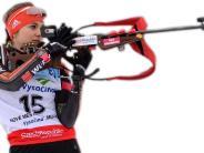 Biathlon: Marina holt sich ihren ersten Podestplatz