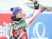 Ski alpin: Um vier Hundertstel geschlagen