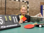 Tischtennis: Er ist der Boss am Tisch