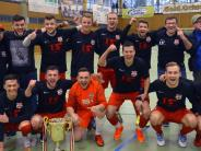 Fußball: FC Blaubeuren jubelt in Wiblinger Halle
