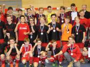 Futsal: Hollenbacher/Petersdorfer U15 jubelt