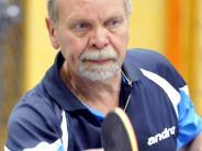 Tischtennis: Senior Tiefenbacher schlägt sich durch