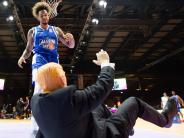 Basketball: Der Dunk über Trump