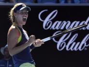 Australian Open: Kurzer Prozess bei 40 Grad: Kerber nun gegen Scharapowa