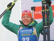 Biathlon-Weltcup in Antholz: Olympia-Generalprobe:Dahlmeier und Peiffer imAufwind