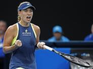 Tennis: Angelique Kerber steht im Achtelfinale der Australian Open