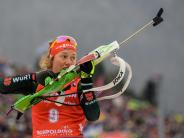 Biathlon: Biathletin Dahlmeier holt in Antholz zweiten Saisonsieg