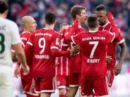 Fußball: Dank Lewandowski und Müller: Bayern gewinnt 4:2 gegen Bremen